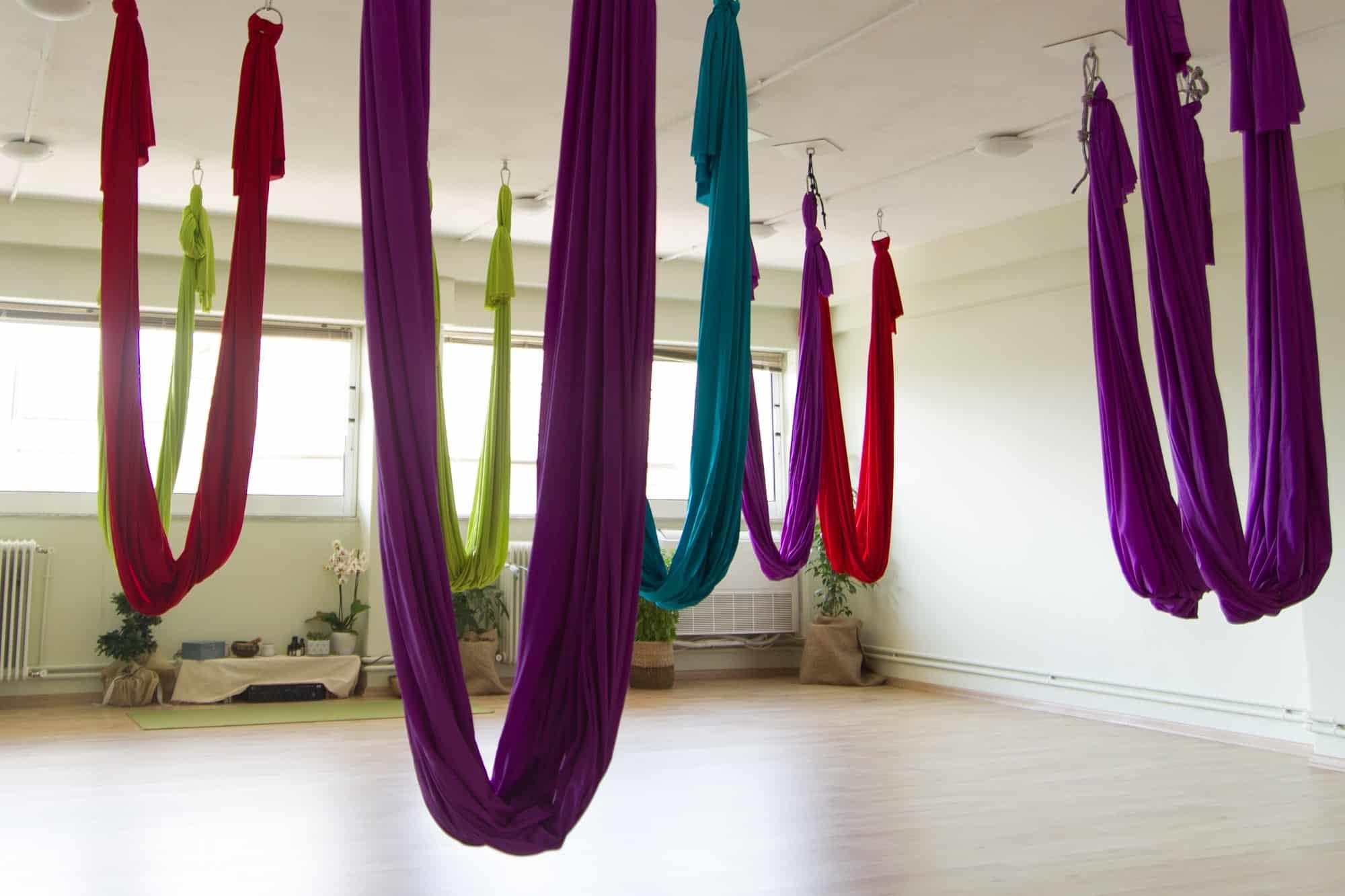 αιώρες aerial yoga