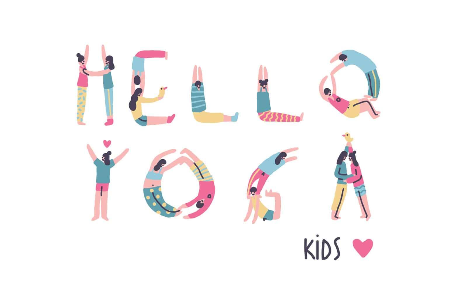 yoga για παιδιά
